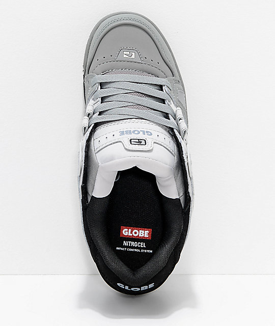 Globe Sabre Black, Light & Dark Grey Skate Shoes