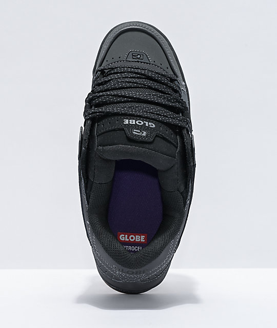 Globe Sabre Split Dark Shadow & Black Skate Shoes