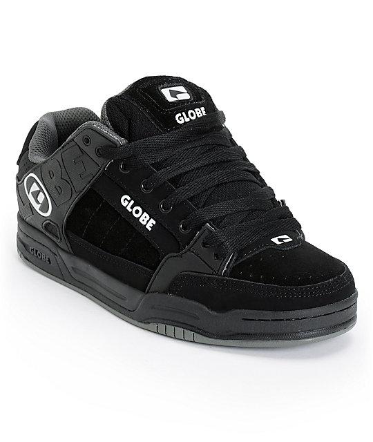 Globe Tilt All Black TPR Skate Shoes ...