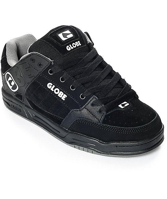Globe Tilt Black & Grey Skate Shoes ...