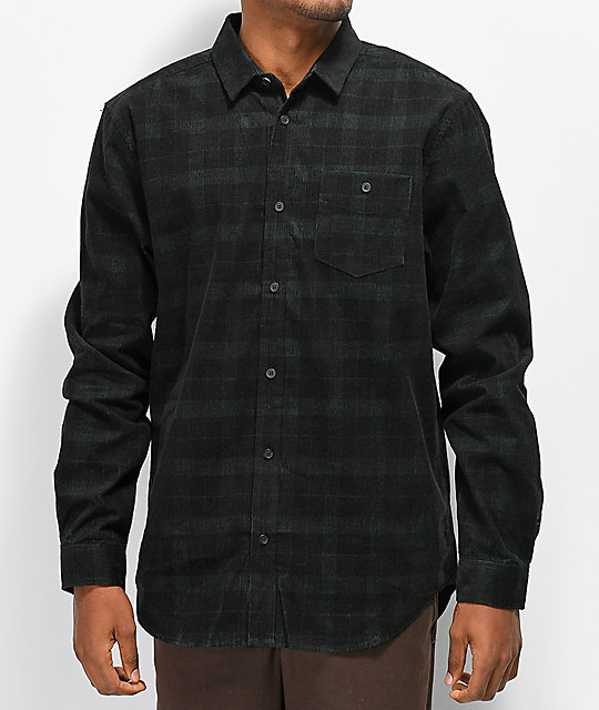 Globe x Brizabone Olive Long Sleeve Button Up Shirt