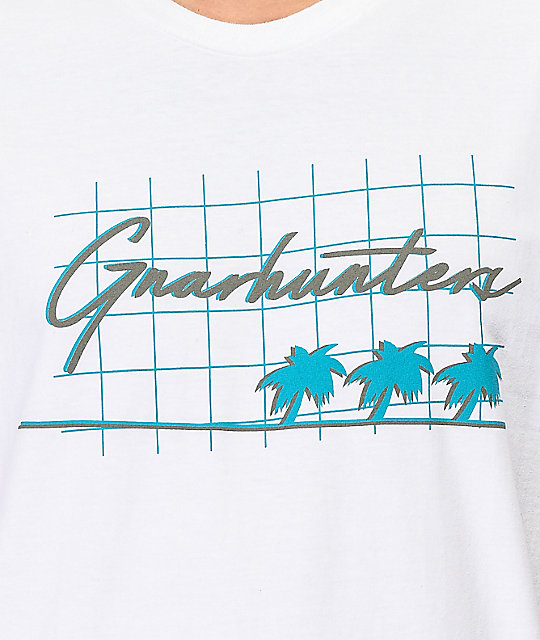 Gnarhunters California White T-Shirt