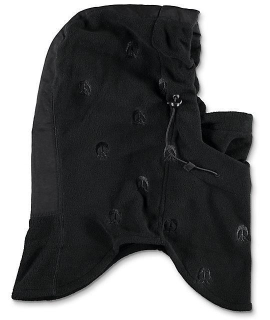 9e2ea22436e ... Gnarly Black Hooded Face Mask