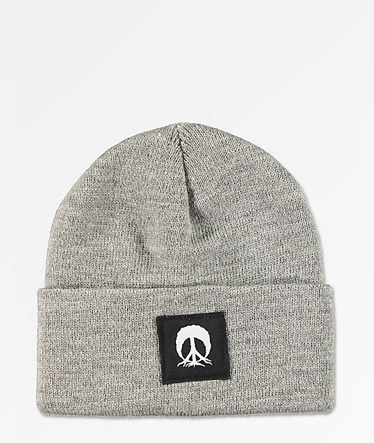 Gnarly Jersey Heather Grey Beanie