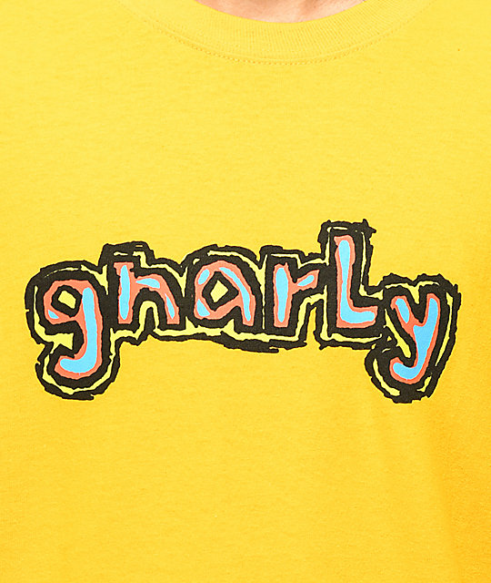 Gnarly Seen Yellow Long Sleeve T-Shirt