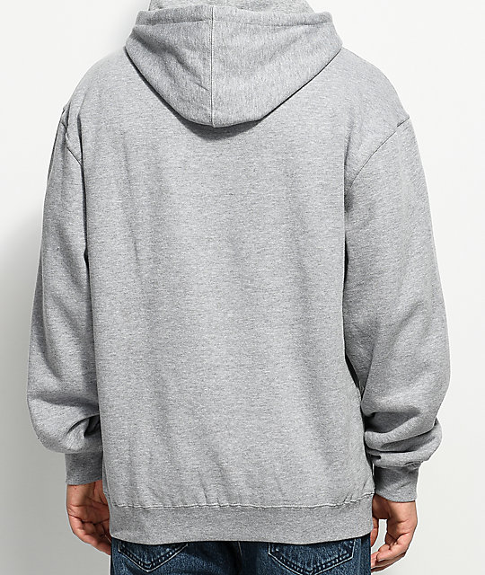 Gnarly Think Grey Hoodie
