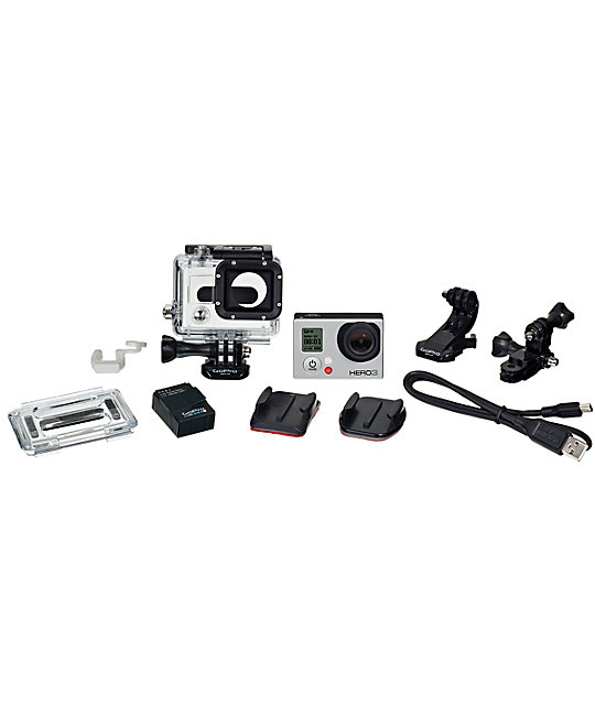 GoPro HERO3 Silver Edition HD Camera