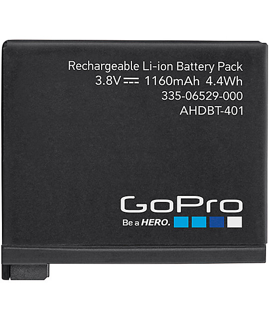 GoPro Hero 4 Rechargeable Battery