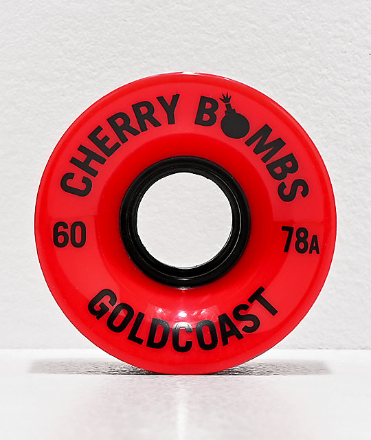 Gold Coast Cherry Bombs 60mm 78a ruedas rojas de cruiser