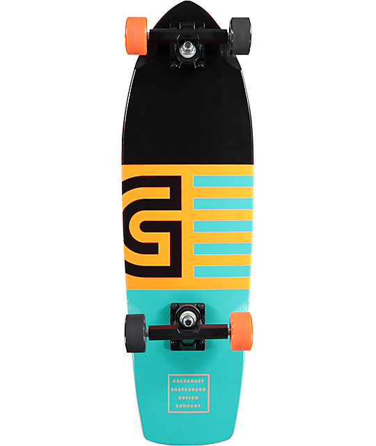 "Gold Coast Jetty 28""  Cruiser Complete Skateboard"