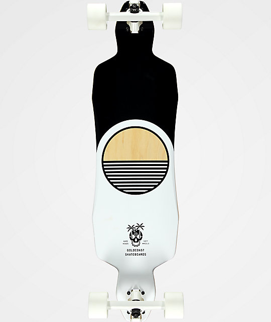 "Gold Coast The Dead Days 36"" Drop Through Longboard Complete"