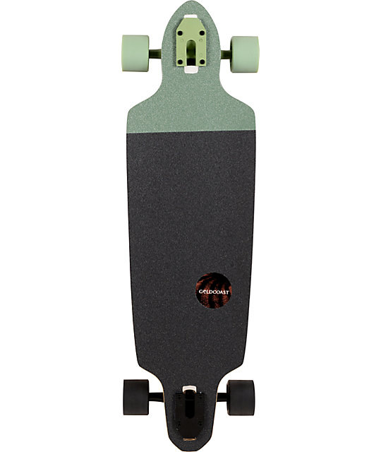 "Gold Coast Valve Drop Through 34""  Complete Longboard"