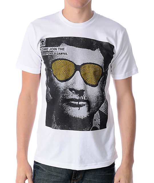 Goodchild Cartel Jackal White T-Shirt