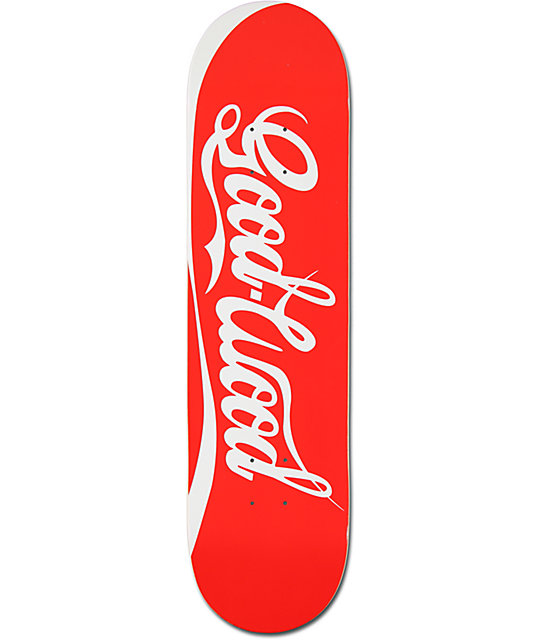 "Goodwood Cola 8.0""  Skateboard Deck"