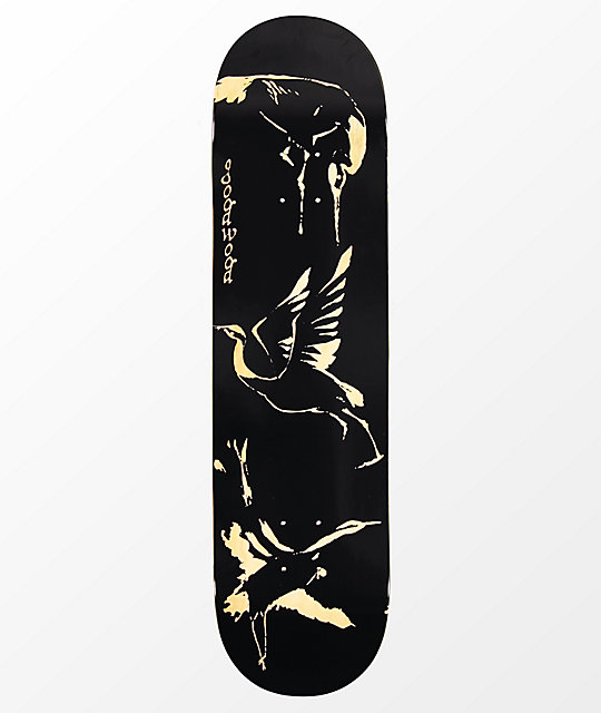 "Goodwood Cranes With Stain 8.25"" Skateboard Deck"