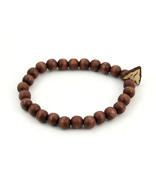 Goodwood Nyc Arrow Head Brown Bracelet