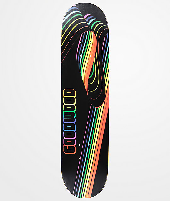 "Goodwood Rainbow 7.75"" Skateboard Deck"