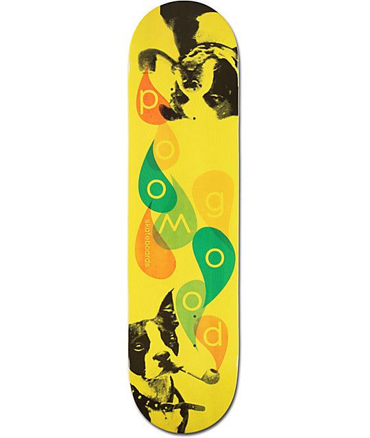 "Goodwood Smoking Dog 8.0""  Skateboard Deck"