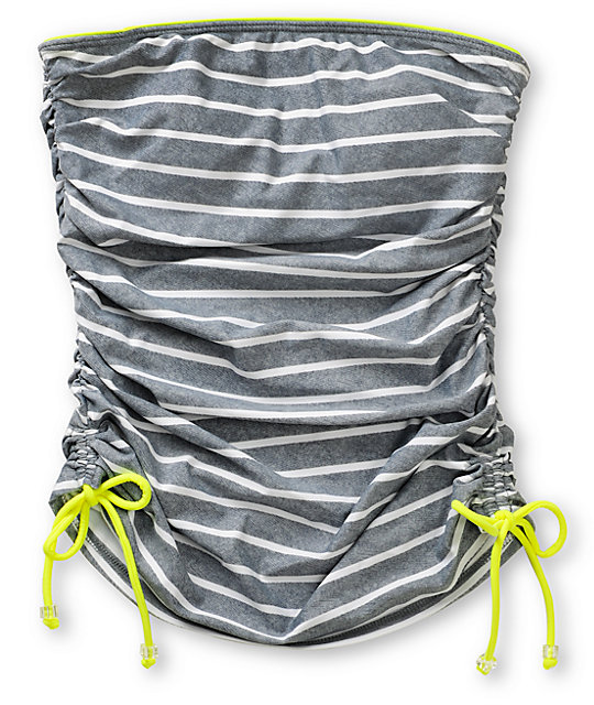 Gossip Amped Striped Tankini