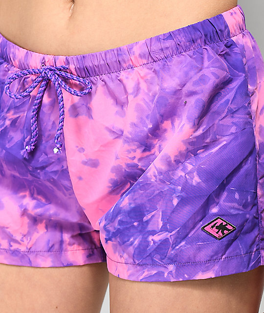 Gotcha Far Out Purple Board Shorts