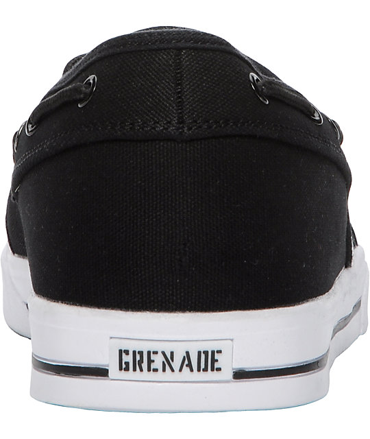 Grenade Standard IsShoes Black Boat Shoes