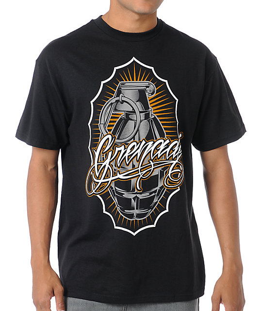 Grenade Virtue Black T-Shirt