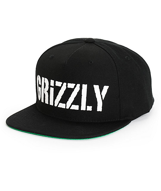 Grizzly HD Stamp Logo Starter Snapback Hat  30c3cc6bdf79