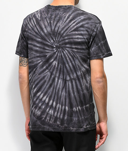 Grizzly Lil P Black Tie Dye T-Shirt