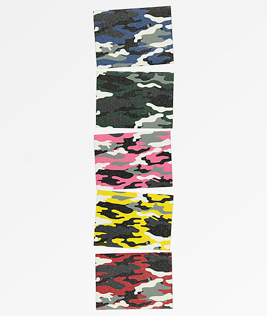 Grizzly Multi Camo Grip Tape Pack