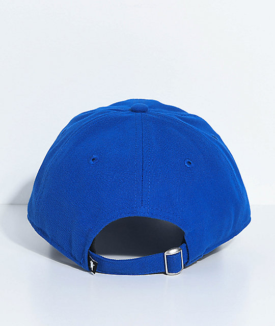 Grizzly Spiderman Blue Strapback Hat