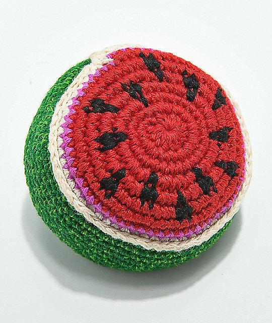Guatamalart Watermelon Crochet Hacky Sack Zumiez