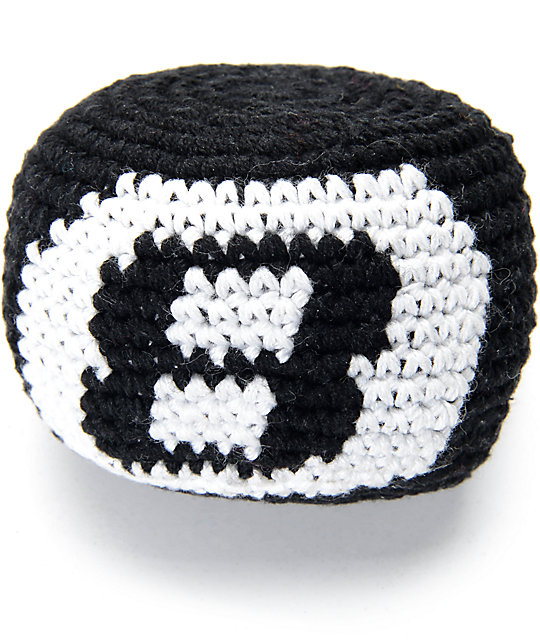Guatemalart Eight Ball Crochet Hacky Sack