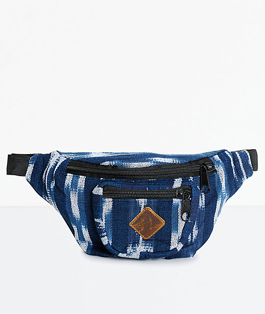 Guatemalart Indigo Fanny Pack on Color By Number For Boys