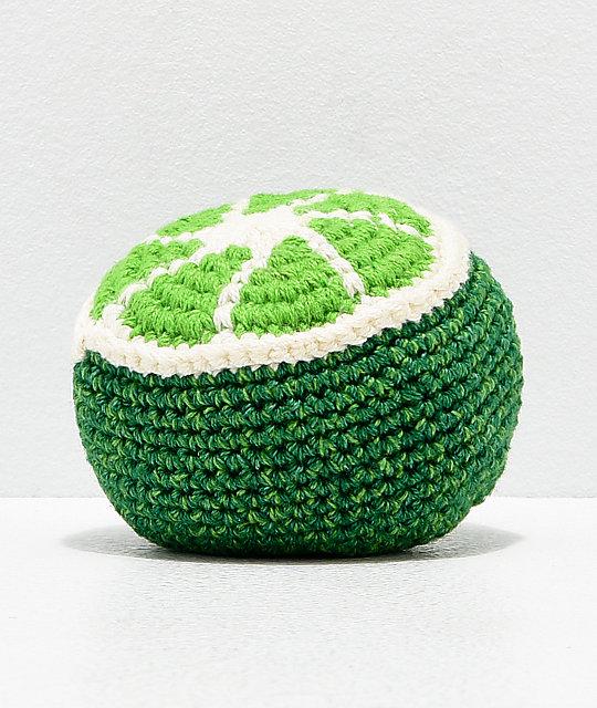 Guatemalart Lime Crochet Hacky Sack Zumiez