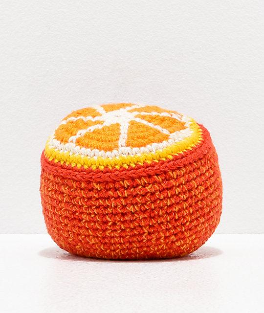 Guatemalart Orange Crochet Hacky Sack Zumiez