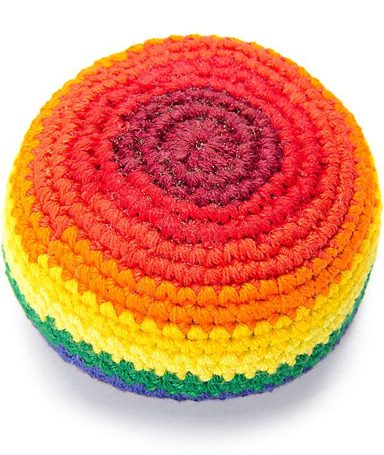 Guatemalart Rainbow Fade Hacky Sack   Zumiez.ca