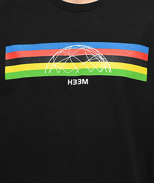 H33M Champ Black T-Shirt