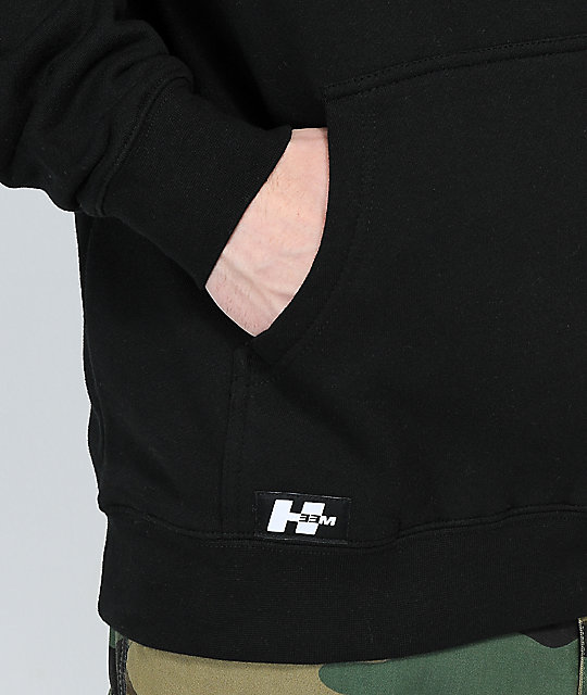 H33M Rejected Black Hoodie