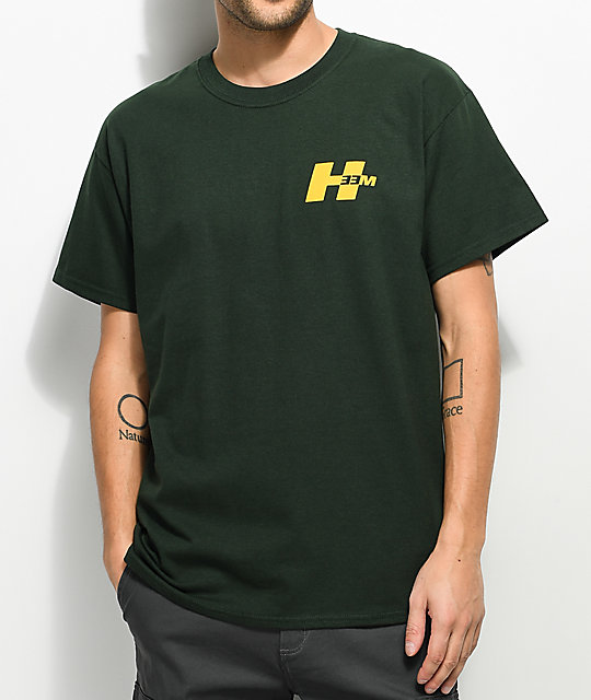 H33M Slant H Forest Green T-Shirt