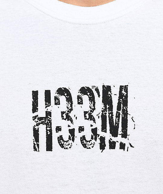 H33M The End White Long Sleeve T-Shirt