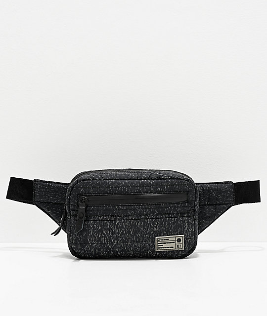HEX Galaxy Reflective Black Fanny Pack