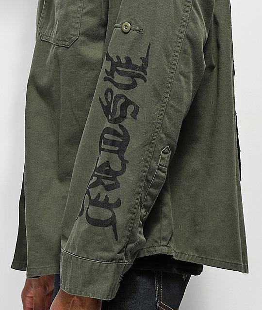 HSTRY Greed & Contempt chaqueta militar