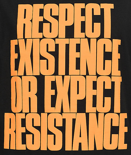 HSTRY Respect Black T-Shirt