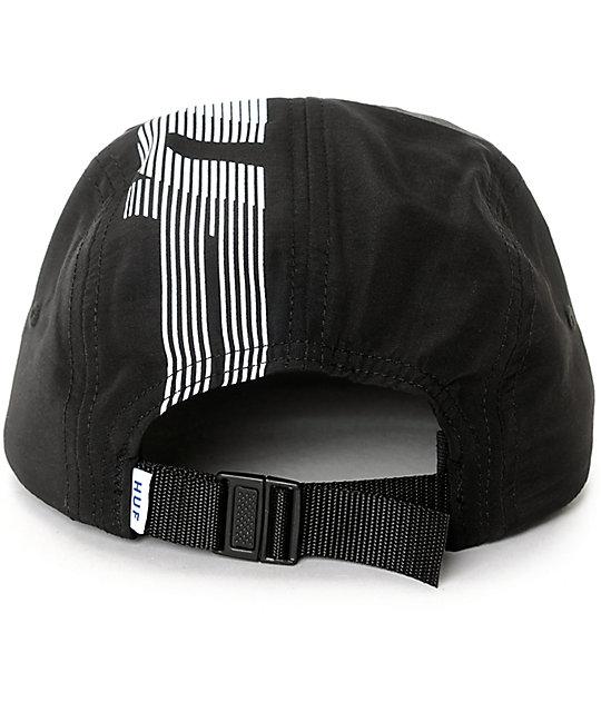 3af93dc28f2 ... HUF 10K Black Stripe Strapback Volleyball Hat
