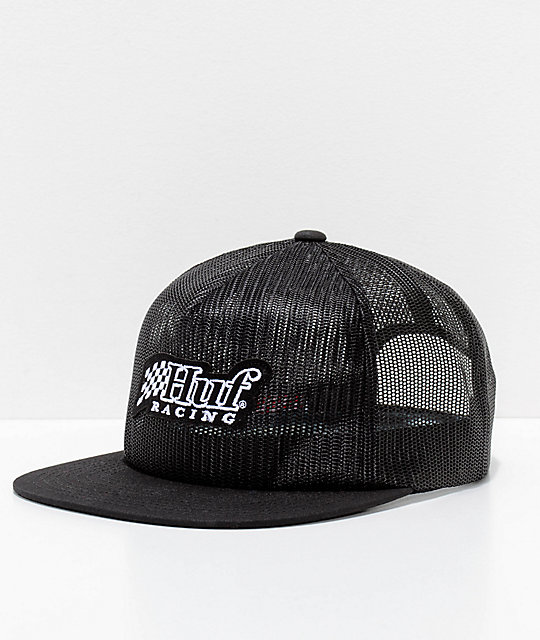 HUF Blackout Trucker Snapback Hat