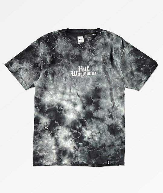 Huf Boys Bird Black Tie Dye T Shirt Zumiez