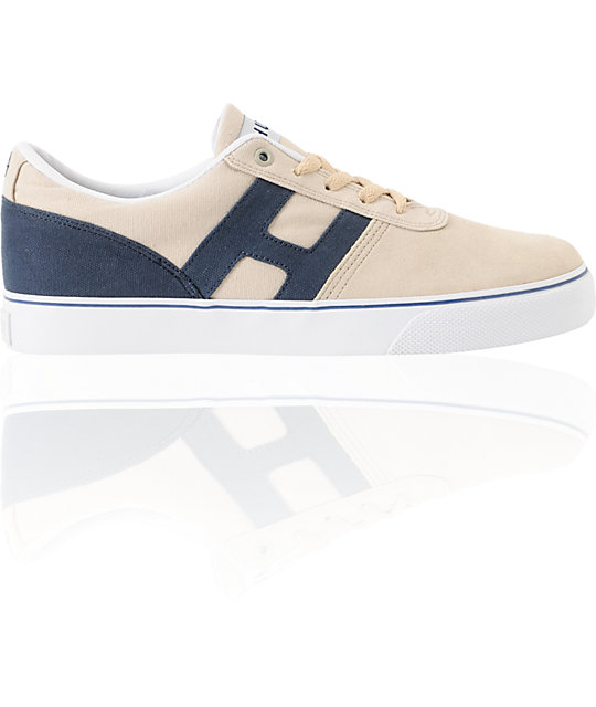 HUF Choice Bone & Midnight Skate Shoes