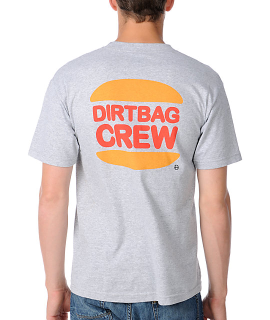 HUF DBC Kings Heather Grey T-Shirt