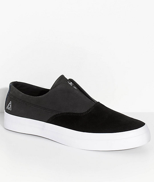 3edfa2c161a HUF Dylan Slip-On Black