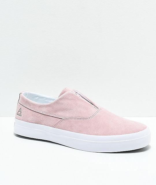 Huf Dylan Slip On Calzado rosa HUF IniMNUkfn1